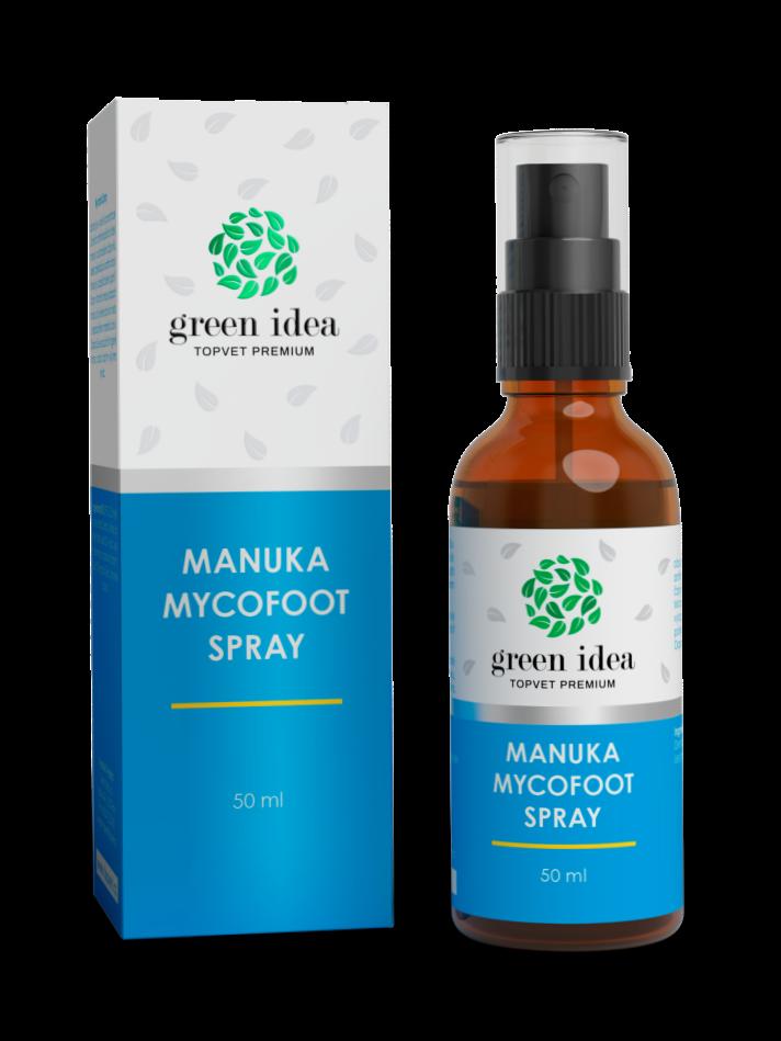 Topvet Green Idea Manuka mycofoot spray 50ml