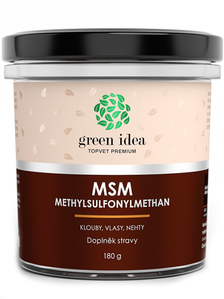 Topvet Green Idea MSM Methylsulfonylmethan 180g