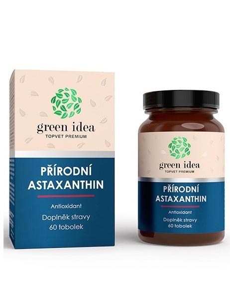 Topvet Green Idea Astaxanthin antioxidant 60 kapsúl