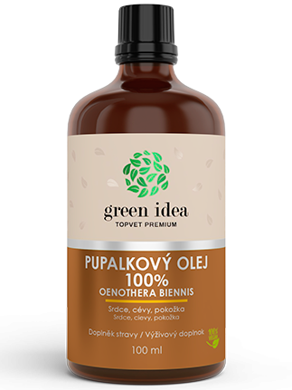 Topvet Green Idea Pupalkový olej 100ml