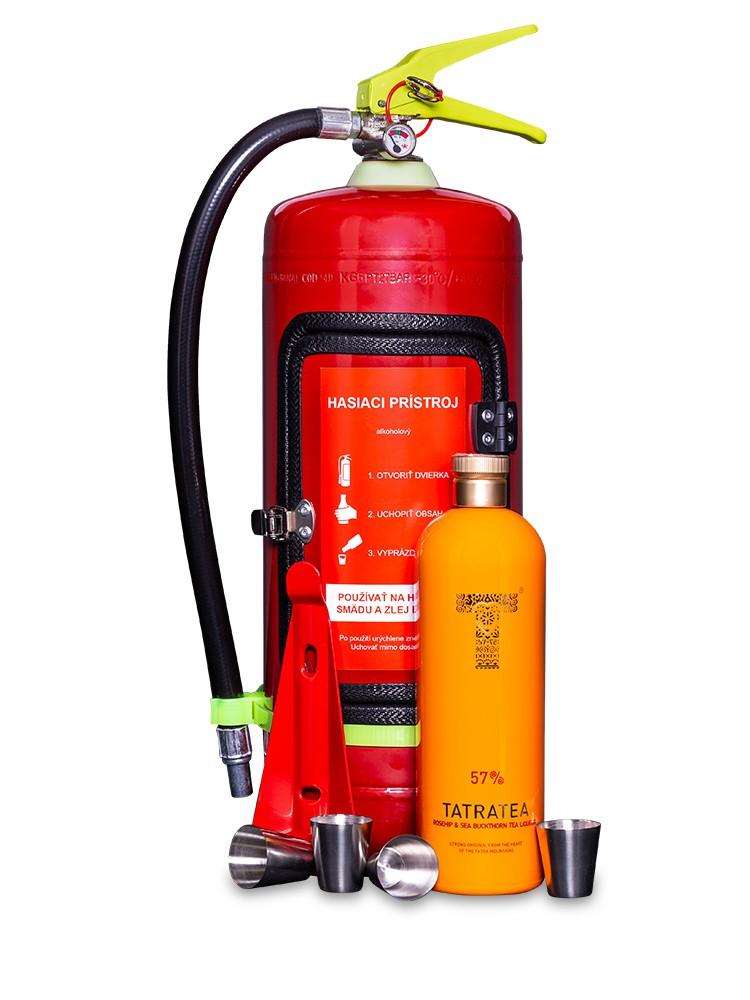 Valach Darčekový hasiaci prístroj minibar TATRATEA