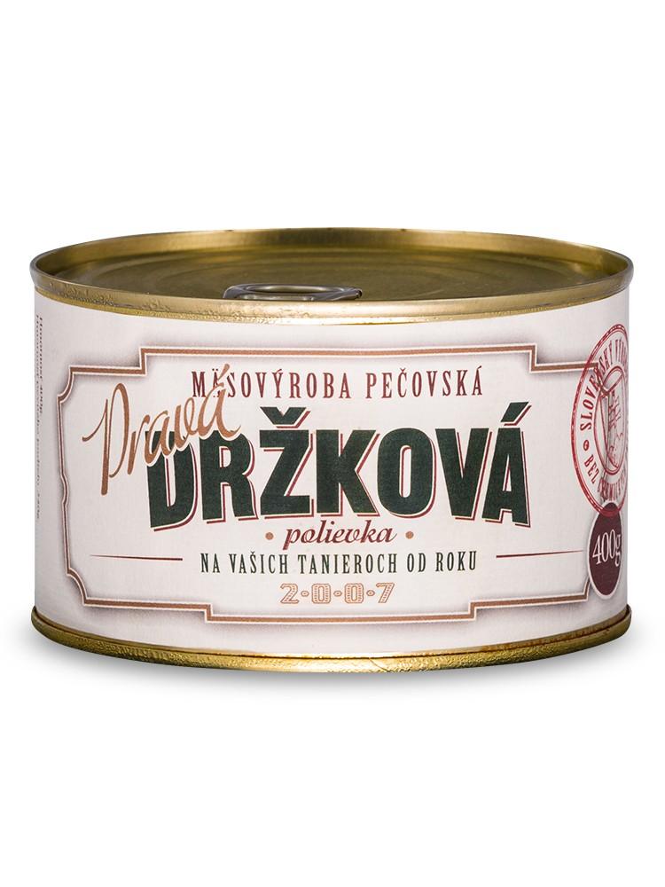 Mäsovýroba Pečovská Pravá držková polievka 400g