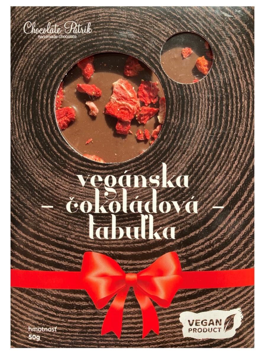 Chocolate Patrik Vegánska čokoládová tabuľka 50g