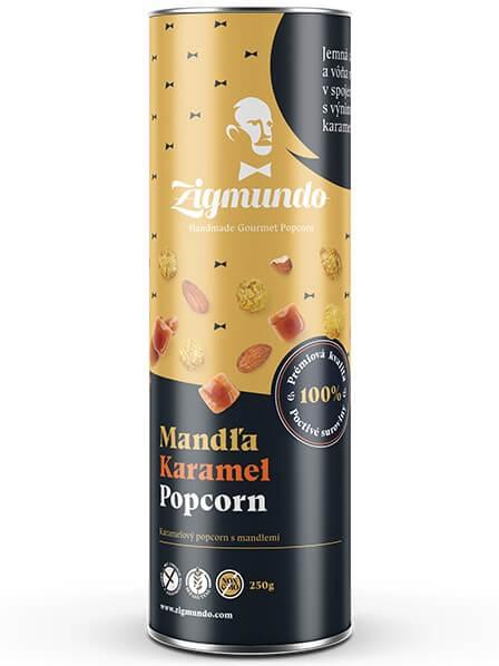 Zigmundo Mandľa & Karamel popcorn 250g